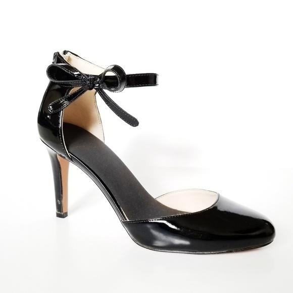 9d25b40ea4e Nine West bow ankle strap heel -D7